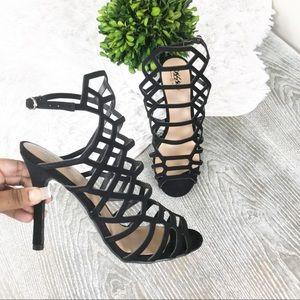 Mossimo Target Kylea Black High Heels Size 7